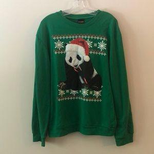 Ugly Christmas Sweater Panda